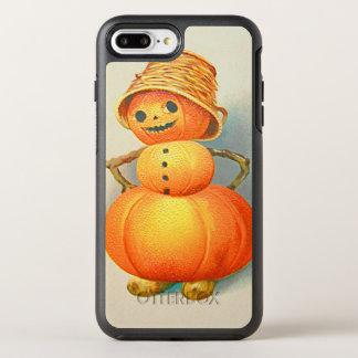 Pumpkin Jack O' Lantern Snowman OtterBox Symmetry iPhone 7 Plus Case