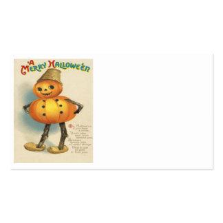Pumpkin Jack O Lantern Snowman Pack Of Standard Business Cards