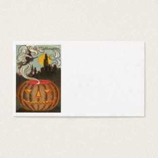 Pumpkin Jack O Lantern Witch Full Moon