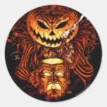 Pumpkin King Lord O Lanterns Round Sticker