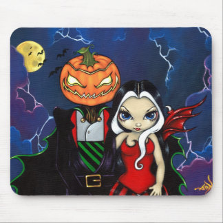 """Pumpkin King's Night Out"" Mousepad"