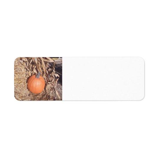 """Pumpkin"" Label"
