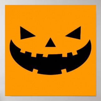 Pumpkin Lantern Halloween Poster