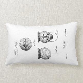 Pumpkin Latern Patent Cushion