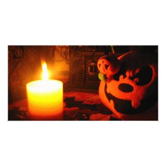 Pumpkin Light Picture Card