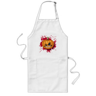 Pumpkin Long Apron