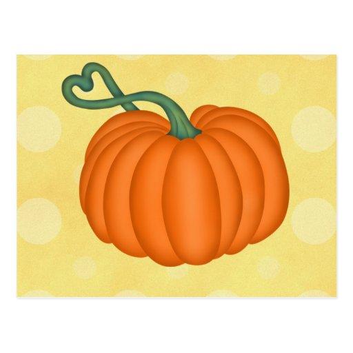 Pumpkin Love Post Cards
