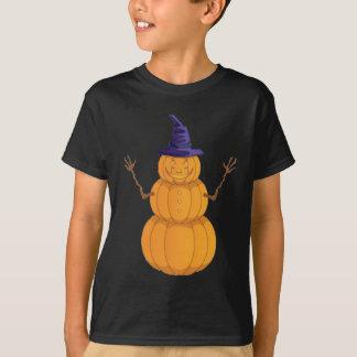 Pumpkin Man Halloween T-Shirt