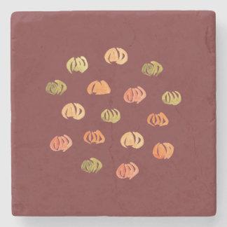 Pumpkin Marble Stone Coaster