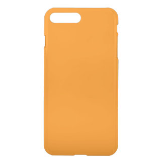 Pumpkin Orange Creepy Hollow Halloween iPhone 7 Plus Case