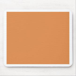 Pumpkin Orange Mouse Pads