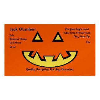Pumpkin Pack Of Standard Business Cards