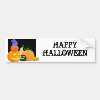 Pumpkin party bumper sticker