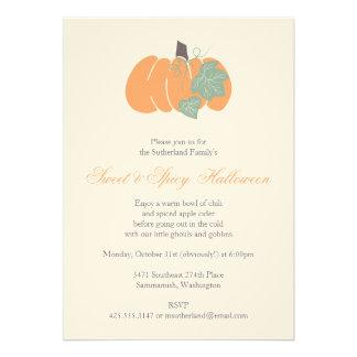 Pumpkin Party Invitation