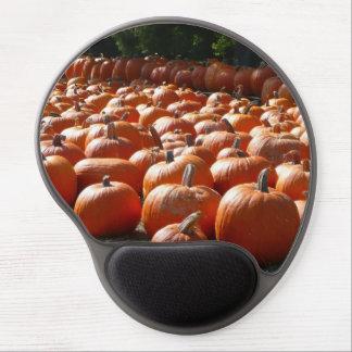 Pumpkin Patch Autumn Harvest Photography Gel Mouse Pad