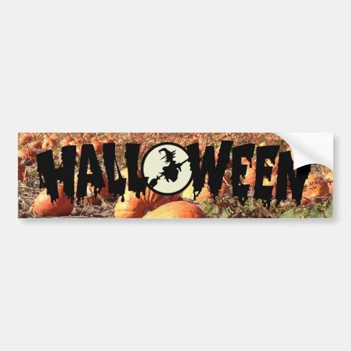 Pumpkin Patch Bumper Stickers