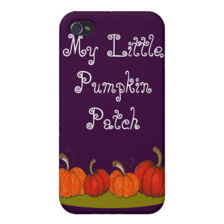 Pumpkin Patch Cases For iPhone 4