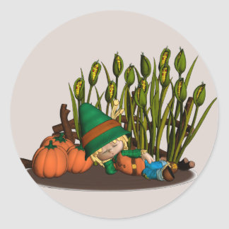 Pumpkin Patch Dreamer Stickers