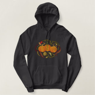 Pumpkin Patch Embroidered Hoodie