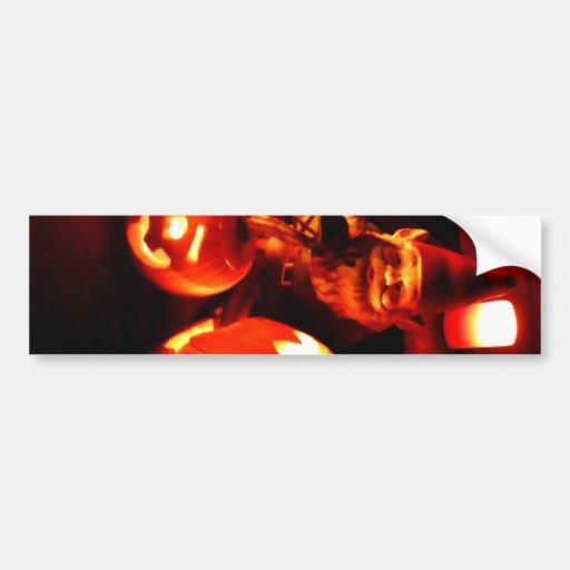 Pumpkin Patch Gnome I Bumper Sticker