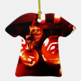 Pumpkin Patch Gnome I Ceramic T-Shirt Decoration