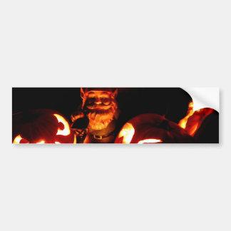 Pumpkin Patch Gnome III Bumper Sticker