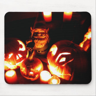 Pumpkin Patch Gnome III Mouse Pad