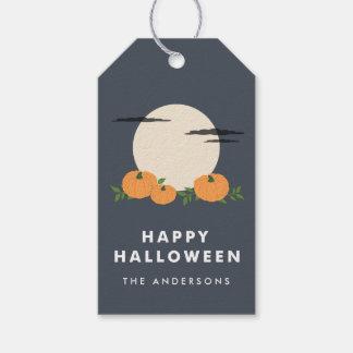 Pumpkin Patch Halloween Gift Tags