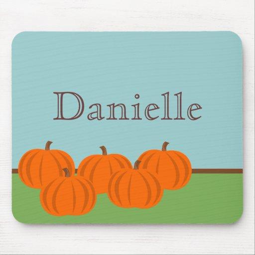 Pumpkin Patch Halloween Mousepad