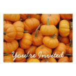 Pumpkin Patch Halloween Party Invitations