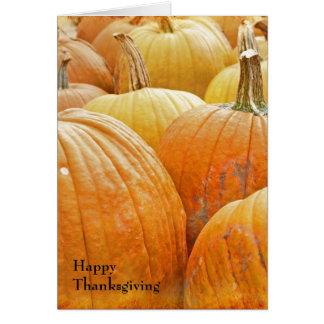 Pumpkin Patch Happy Thanksgiving Card