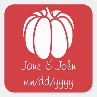 Pumpkin Patch in Cherry Sticker