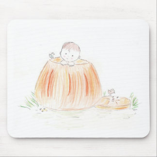 Pumpkin Patch Kid Mouse Pad