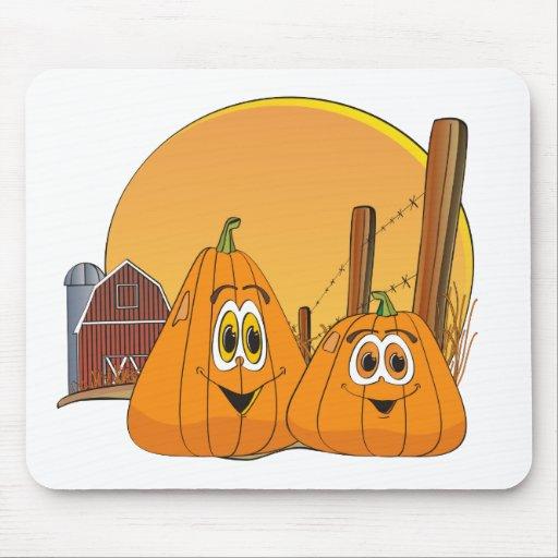 Pumpkin Patch Mousepads