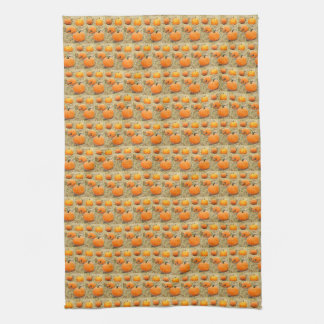 Pumpkin Patch Tea Towel