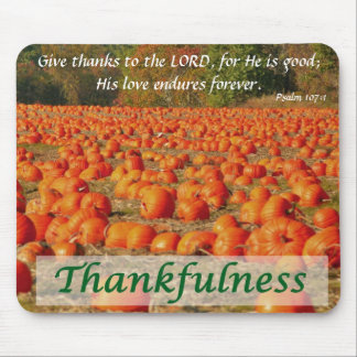 Pumpkin Patch - Thankfulness Mouse Mat