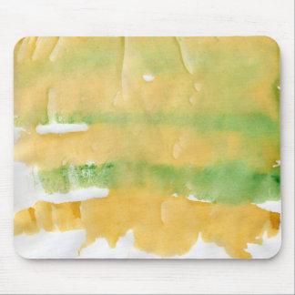 Pumpkin patch watercolor splotch mouse pad