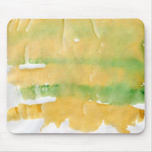 Pumpkin patch watercolor splotch mousepad