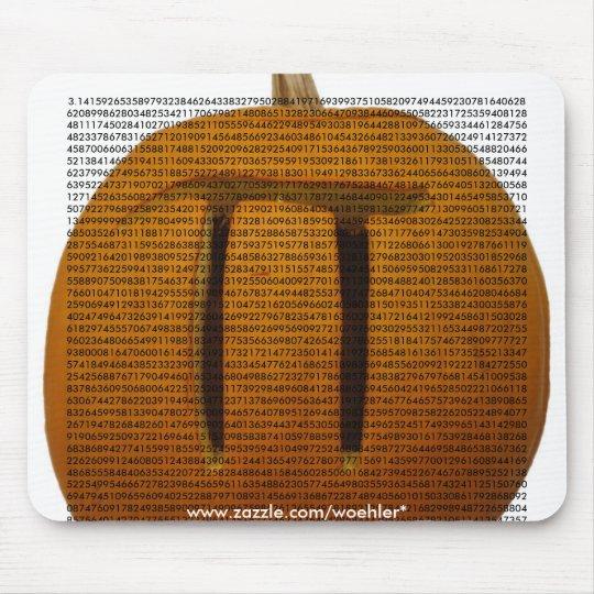 Pumpkin Pi, 3.14159265358979323846264338327950... Mouse Mat