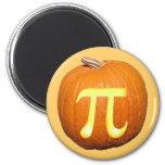 Pumpkin Pi 6 Cm Round Magnet