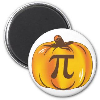 Pumpkin Pi - Happy Halloween 6 Cm Round Magnet