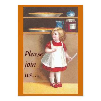 Pumpkin Pie for Thanksgiving 13 Cm X 18 Cm Invitation Card