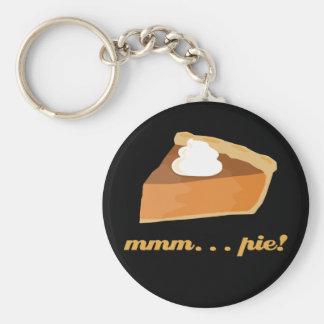 Pumpkin Pie - mmm . . . pie! Key Ring
