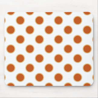 Pumpkin Pie Pattern. Mouse Pad