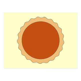 Pumpkin Pie. Postcard