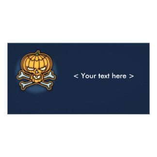 Pumpkin Pirate Photo Card