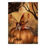 Pumpkin Pixie Card