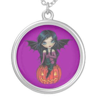 Pumpkin Pixie Little Vampire Pendant Necklace