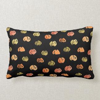 Pumpkin Polyester Lumbar Pillow