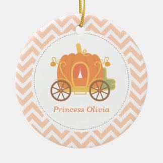 Pumpkin Princess Carriage Girls Room Decor Christmas Ornament